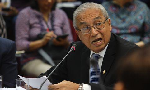 Colegio de Abogados de Lima suspende colegiatura de Pedro Chávarry por 18 meses